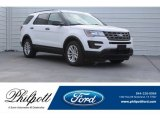 2017 Oxford White Ford Explorer FWD #124441109
