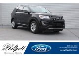 2017 Shadow Black Ford Explorer XLT #124441108