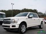 2018 White Platinum Ford F150 Platinum SuperCrew 4x4 #124441050