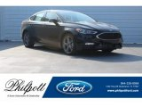 2018 Shadow Black Ford Fusion Sport AWD #124441143