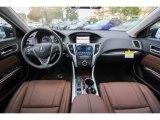 2018 Acura TLX V6 Technology Sedan Espresso Interior