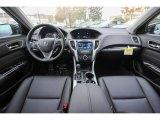 2018 Acura TLX Sedan Ebony Interior