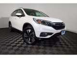 2015 White Diamond Pearl Honda CR-V Touring #124453401