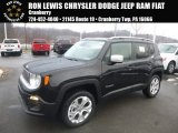 2017 Black Jeep Renegade Limited 4x4 #124458528