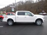 2018 White Platinum Ford F150 Platinum SuperCrew 4x4 #124477229