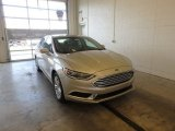 2018 White Gold Ford Fusion SE #124477119