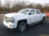 2018 Iridescent Pearl Tricoat Chevrolet Silverado 1500 High Country Crew Cab 4x4 #124477169