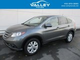 2014 Polished Metal Metallic Honda CR-V EX AWD #124477007