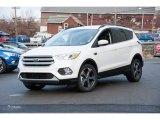 2018 White Platinum Ford Escape SEL 4WD #124477152