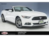 2016 Oxford White Ford Mustang EcoBoost Premium Convertible #124477261