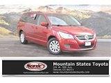 2012 Deep Claret Red Metallic Volkswagen Routan SE #124477041