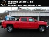 2018 Red Hot Chevrolet Silverado 1500 LT Crew Cab 4x4 #124477094