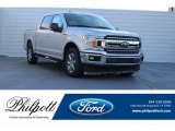 2018 Ingot Silver Ford F150 XLT SuperCrew #124477243