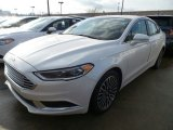 2018 White Platinum Ford Fusion SE #124477358