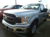 2018 Ingot Silver Ford F150 XL Regular Cab #124477356