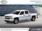 2018 Summit White Chevrolet Silverado 1500 Custom Crew Cab 4x4 #124502847