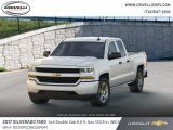 2017 Summit White Chevrolet Silverado 1500 Custom Double Cab 4x4 #124502813