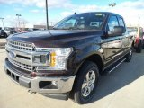 2018 Magma Red Ford F150 XLT SuperCab 4x4 #124502943