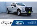 2016 Ingot Silver Ford F150 XL SuperCab #124502743