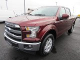2017 Bronze Fire Ford F150 Lariat SuperCrew 4X4 #124529911