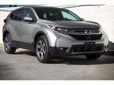 2018 Lunar Silver Metallic Honda CR-V EX-L #124529788