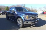 2018 Blue Jeans Ford F150 XLT SuperCab 4x4 #124530017