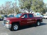 2018 Cajun Red Tintcoat Chevrolet Silverado 1500 LT Crew Cab #124530009