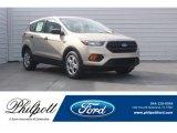 2018 White Gold Ford Escape S #124556372