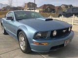 2007 Windveil Blue Metallic Ford Mustang GT Premium Coupe #124593687
