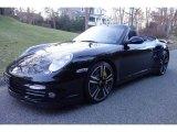 2012 Black Porsche 911 Turbo S Cabriolet #124593590