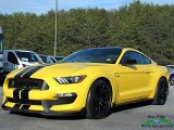 2017 Triple Yellow Ford Mustang Shelby GT350 Coupe #124593550