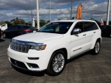2017 Bright White Jeep Grand Cherokee Summit 4x4 #124604007