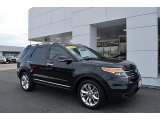 2014 Tuxedo Black Ford Explorer Limited #124603894