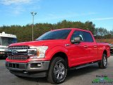 2018 Race Red Ford F150 XLT SuperCrew 4x4 #124603725