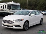 2018 White Platinum Ford Fusion SE #124622310