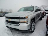 Silver Ice Metallic Chevrolet Silverado 1500 in 2018