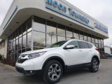 2018 White Diamond Pearl Honda CR-V EX AWD #124622487