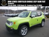 2017 Hypergreen Jeep Renegade Limited 4x4 #124622431