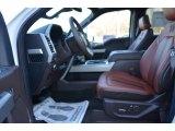 2018 Ford F350 Super Duty King Ranch Crew Cab 4x4 King Ranch Java Interior