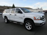 2006 Bright White Dodge Ram 1500 SLT Quad Cab 4x4 #124622554