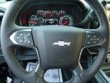 2018 Chevrolet Silverado 1500 LTZ Crew Cab 4x4 Steering Wheel
