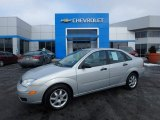 2005 CD Silver Metallic Ford Focus ZX4 S Sedan #124644895