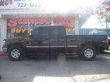 2001 Onyx Black Chevrolet Silverado 1500 LS Extended Cab 4x4 #12456617