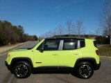 2017 Hypergreen Jeep Renegade Trailhawk 4x4 #124683268
