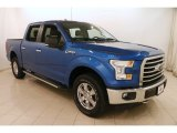 2015 Blue Flame Metallic Ford F150 XLT SuperCrew 4x4 #124699431