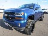 2016 Deep Ocean Blue Metallic Chevrolet Silverado 1500 LT Z71 Crew Cab 4x4 #124699397