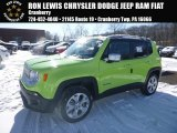 2017 Hypergreen Jeep Renegade Limited 4x4 #124699303