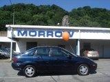 2003 Twilight Blue Metallic Ford Focus SE Sedan #12448954