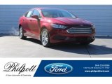 2018 Ruby Red Ford Fusion SE #124716005