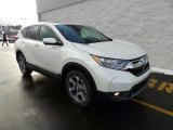 2018 White Diamond Pearl Honda CR-V EX AWD #124715918